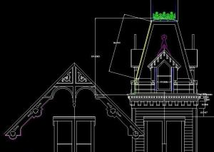 tower in autocad