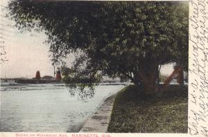 Riverside c 1905 island