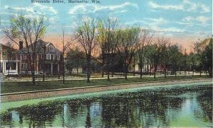 Riverside postcard 1920ish